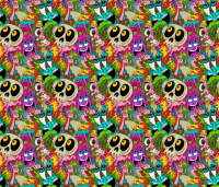 Sick wallpaper - chrispiascik - Spoonflower
