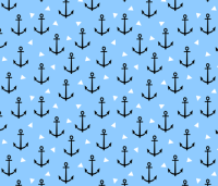 anchor tri triangle blue cute nautical boy nursery baby