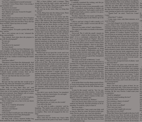 Paper Robot: Sherlock Holmes Skirt