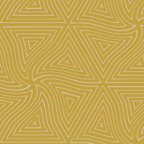 Pyramid (Mustard) fabric