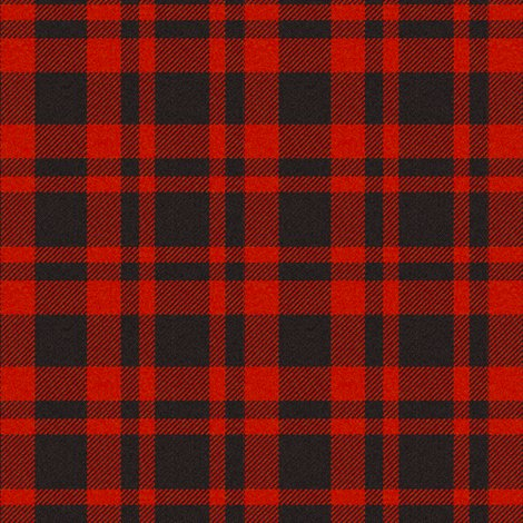 RedBlack Plaid wallpaper  jandq0306  Spoonflower