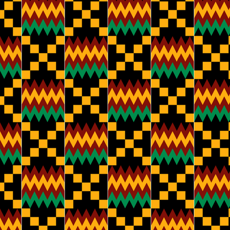 3 Inch Yellow, Green, Red, with White Stripes on Black