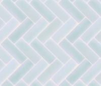 Light Blue Herringbone Tile Backsplash fabric - gofigure ...