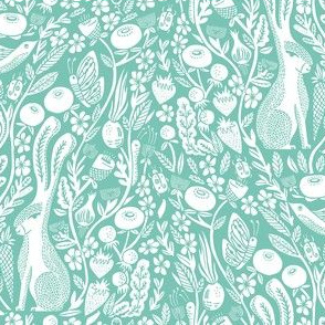Botanical Fabric Wallpaper Amp Gift Wrap Spoonflower