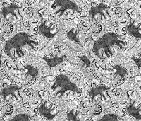 Elephant Paisley - Medium size fabric - paisleypower ...