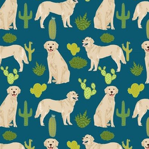 golden retriever fabric wallpaper