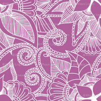 Yoga indian henna design purple pink wallpaper - khaus ...