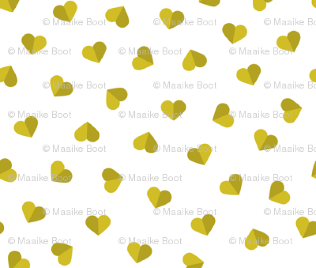 Abstract Scandinavian Style Pastel Mustard Yellow Ochre Hearts Love Print For Valentine Small Back Little_smilemakers_studio_spoonflower_thumb