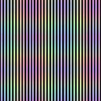Rainbow_Stripe_2blk wallpaper - karwilbedesigns - Spoonflower
