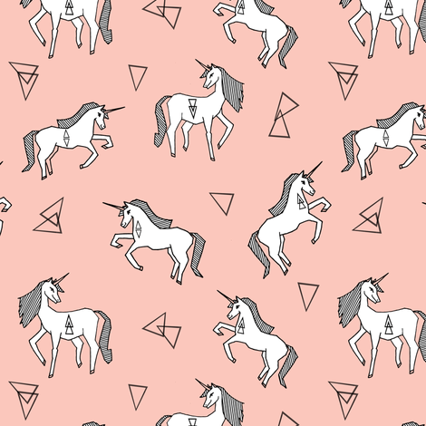 Cute Wallpaper 800 Pixels Wide And 200 Pixels Tall Unicorn Fabric Pink And White Unicorns Fabric Cute Pink