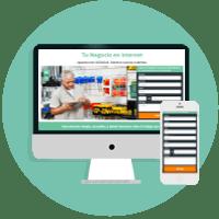 Tendrás una página web optimizada para generar contactos!