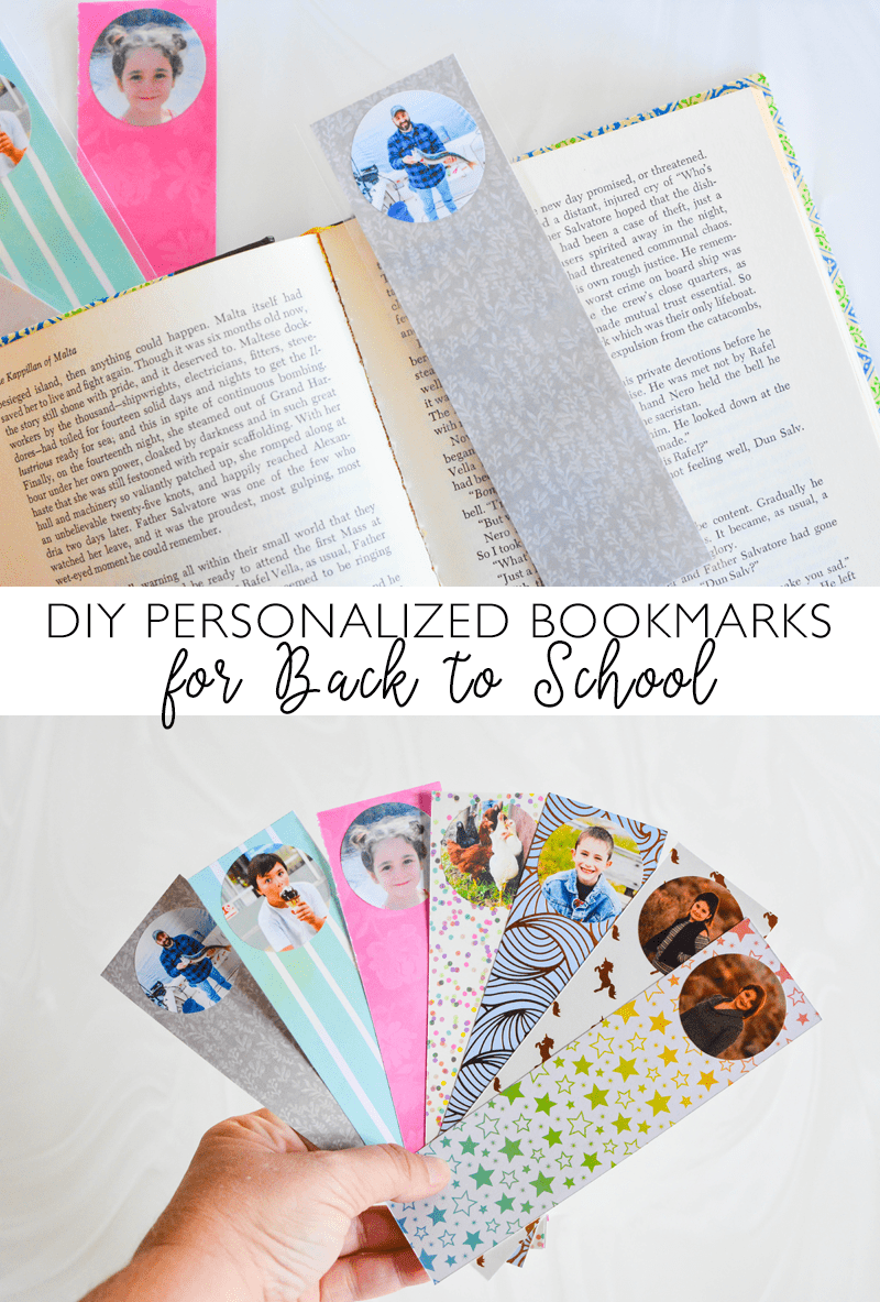 diy personalized bookmarks inspiration