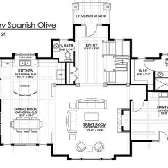 Open Plan Kitchen Dining Living Room Plans Furniture Entertainment Center Spanish Olive Timber Floor By Timberbuilt