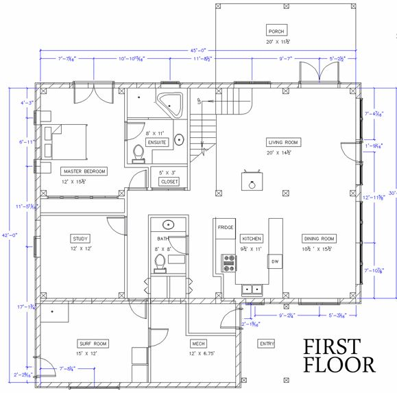 Living Off Grid Floor Plan by TimberhArt Woodworks