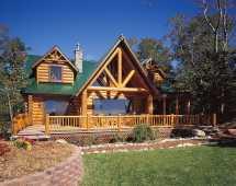 Hiawatha Log Home Floor Plans