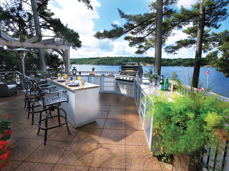 outdoor kitchens on a budget lighting for kitchen island 5 paths to an affordable