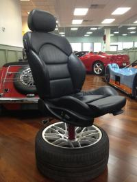 What car seat should I use to make an office chair?