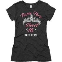 Sweet Sixteen Birthday Tee