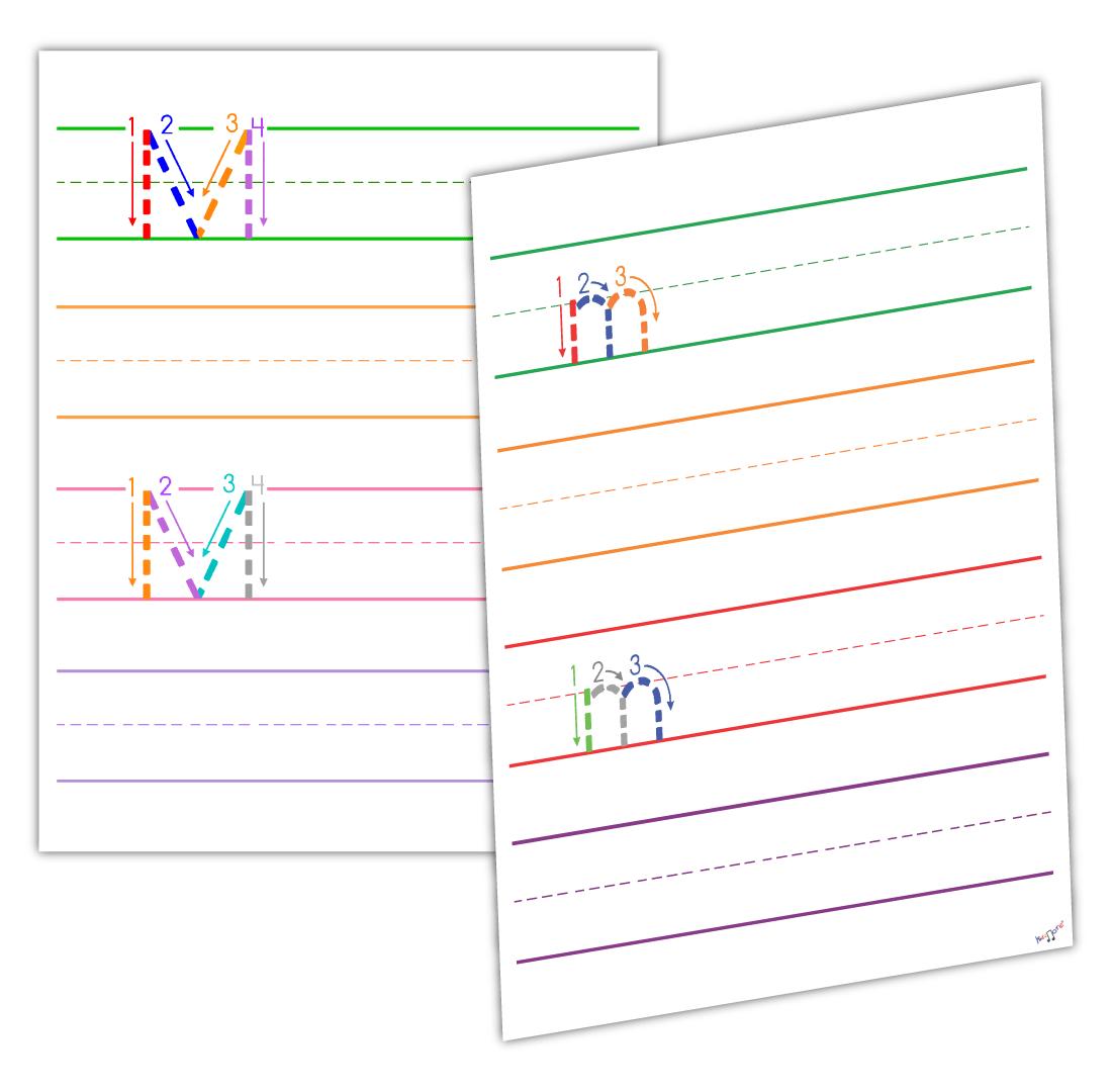 Letter M Worksheets By Kidznote Pre K Preschool