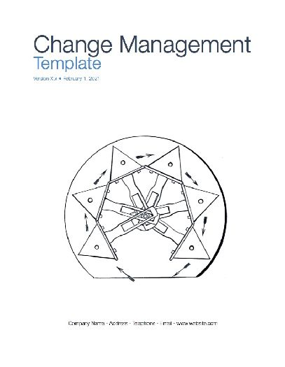 Change Management Plan (Apple iWork Pages/Numbers)