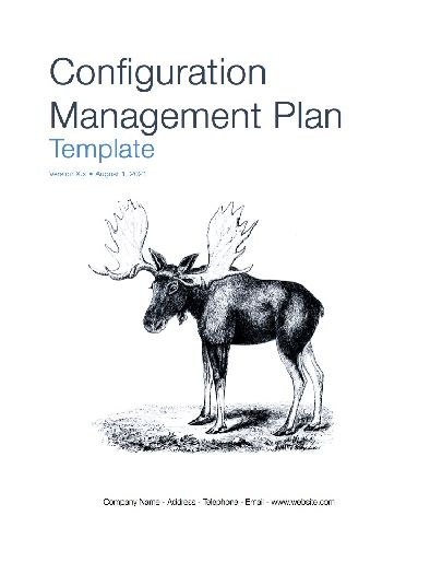 Configuration Management Plan (Apple iWork Pages/Numbers)