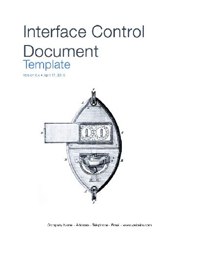 Interface Control Document (Apple iWork Pages/Numbers)