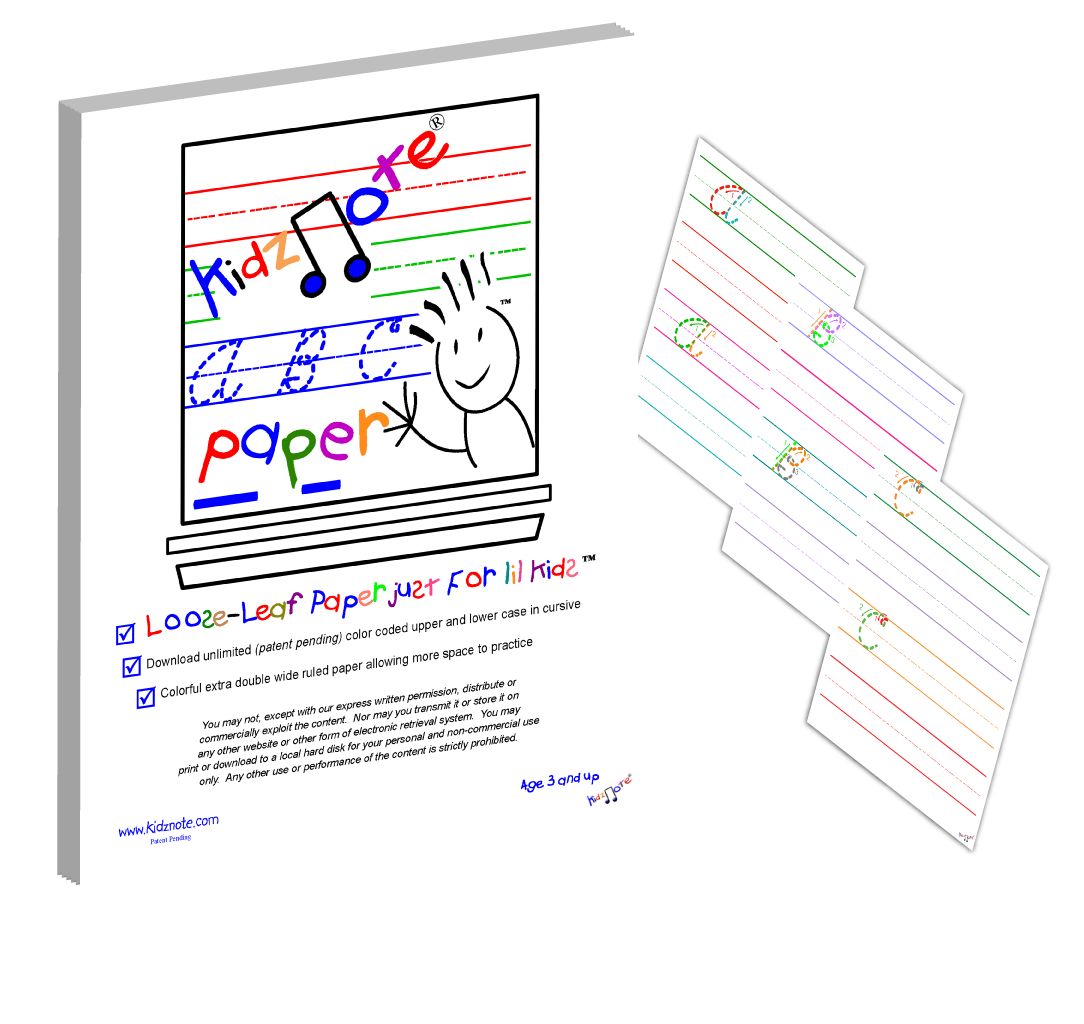 Cursive Writing Worksheets With Color Coded Alphabet