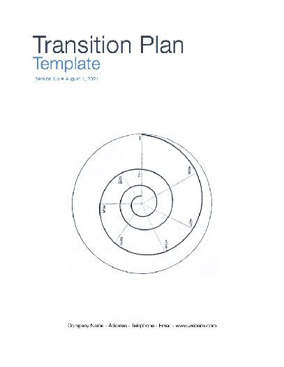 Transition Plan (Apple iWork Pages/Numbers)