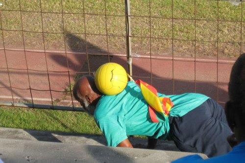 Grenada's Flag Man