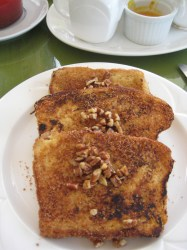 The best french toast!