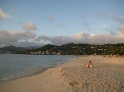 Our beautiful Grand Anse Beach!
