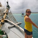 Stefanie on the Ship - Yo Ho!