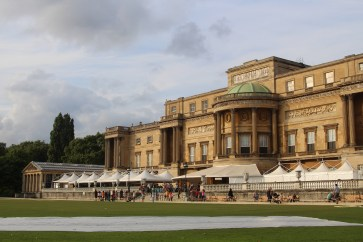 Back of Buckingham Palace