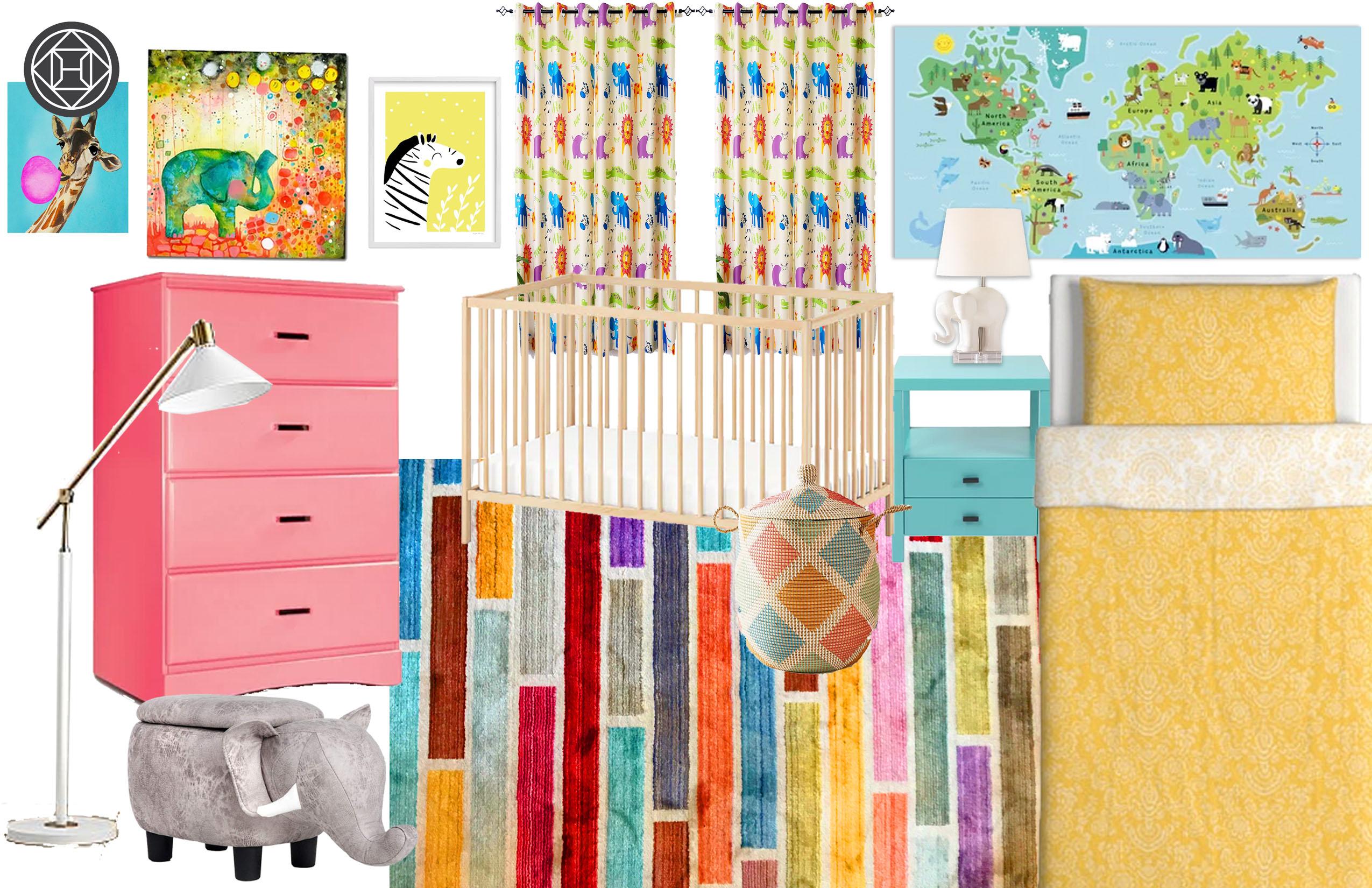 Eclectic Nursery Design By Havenly Interior Designer Alex