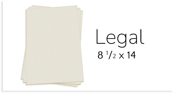 card stock paper sizes