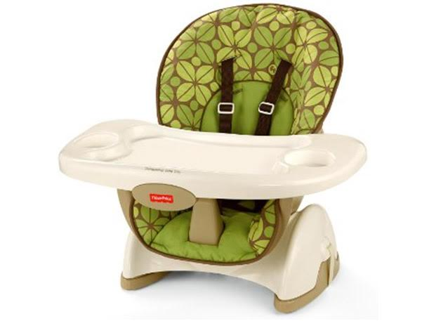 small high chair cheap saucer 5 versatile chairs from to tall myregistry blog the comfy adjustable fisher price space saver offers a full sized seat and eating tray but straps securely onto most so it takes up minimum