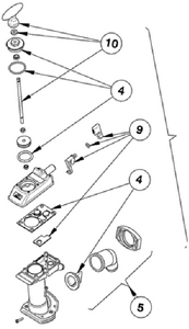 Toilets Manual & Electric Fixed Mount & Parts