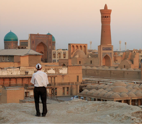 Explore the Streets of Bukhara Uzbekistan