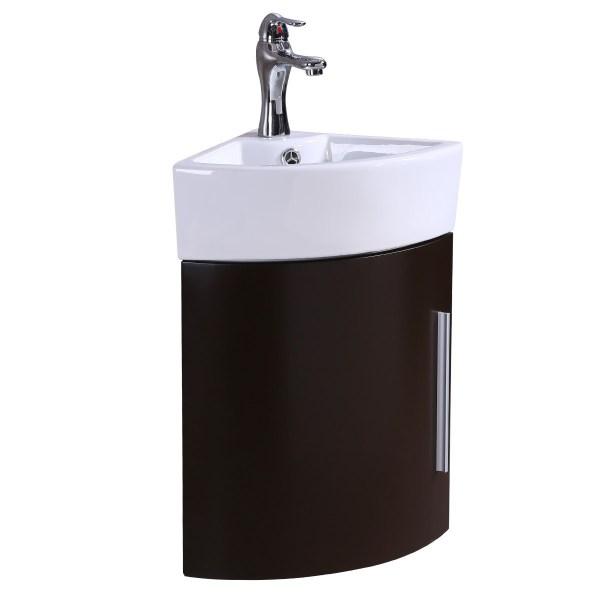Bathroom Cabinet Corner Vanity with Sink