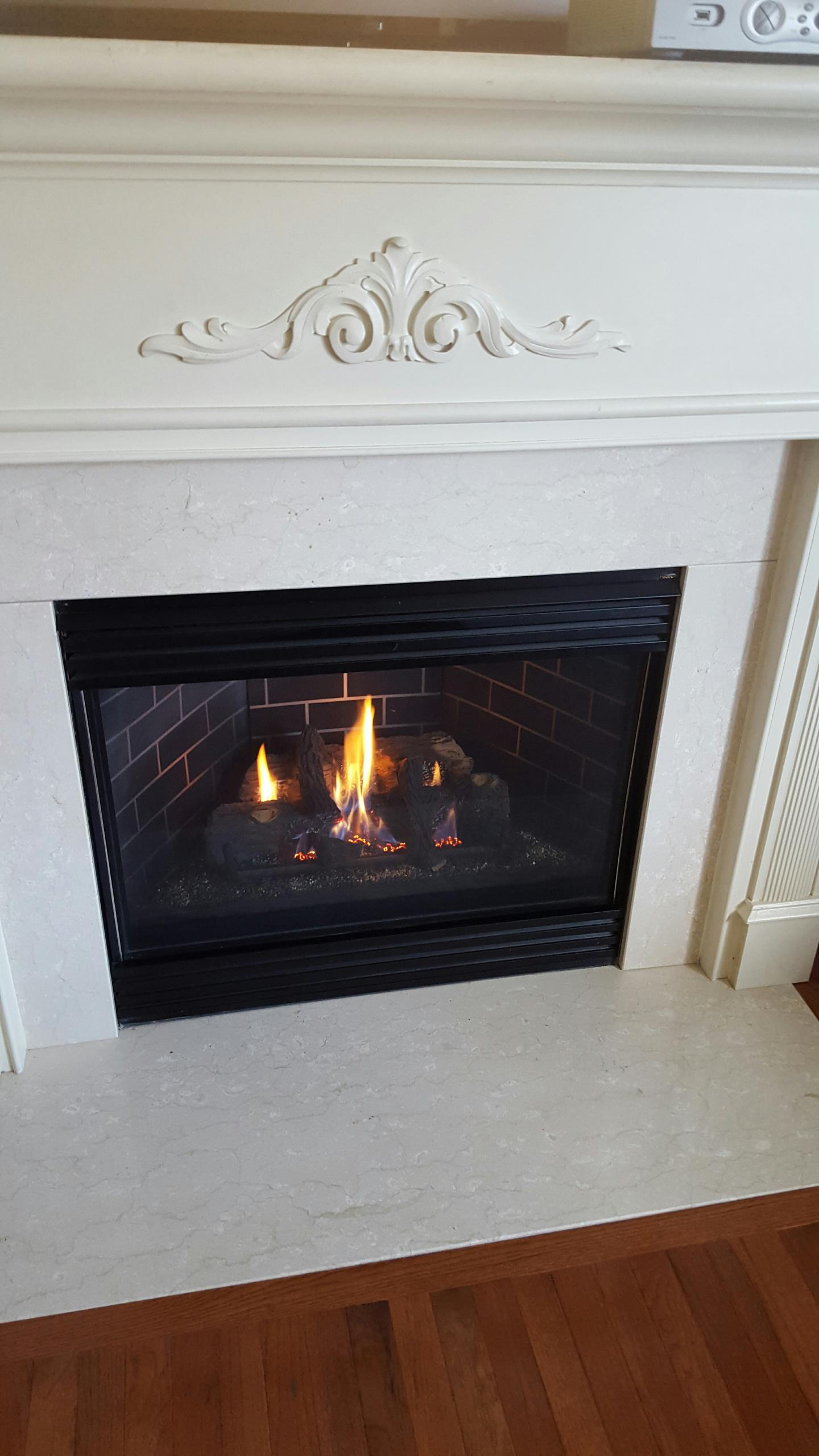 AC heat pump  air conditioning system repair service  A