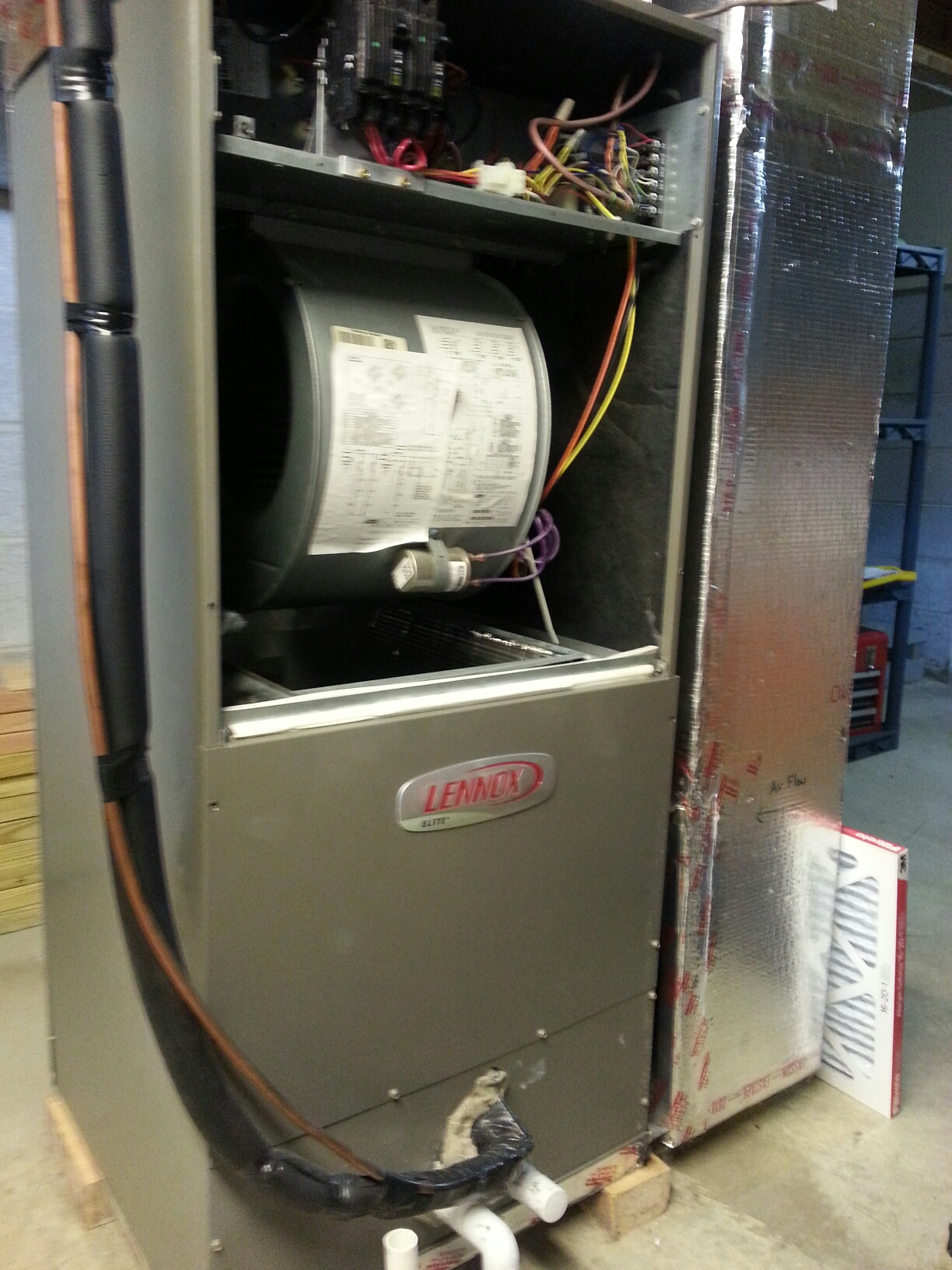 electric furnace lennox mtd lawn tractor belt diagram heating and air conditioning repair in grove city oh
