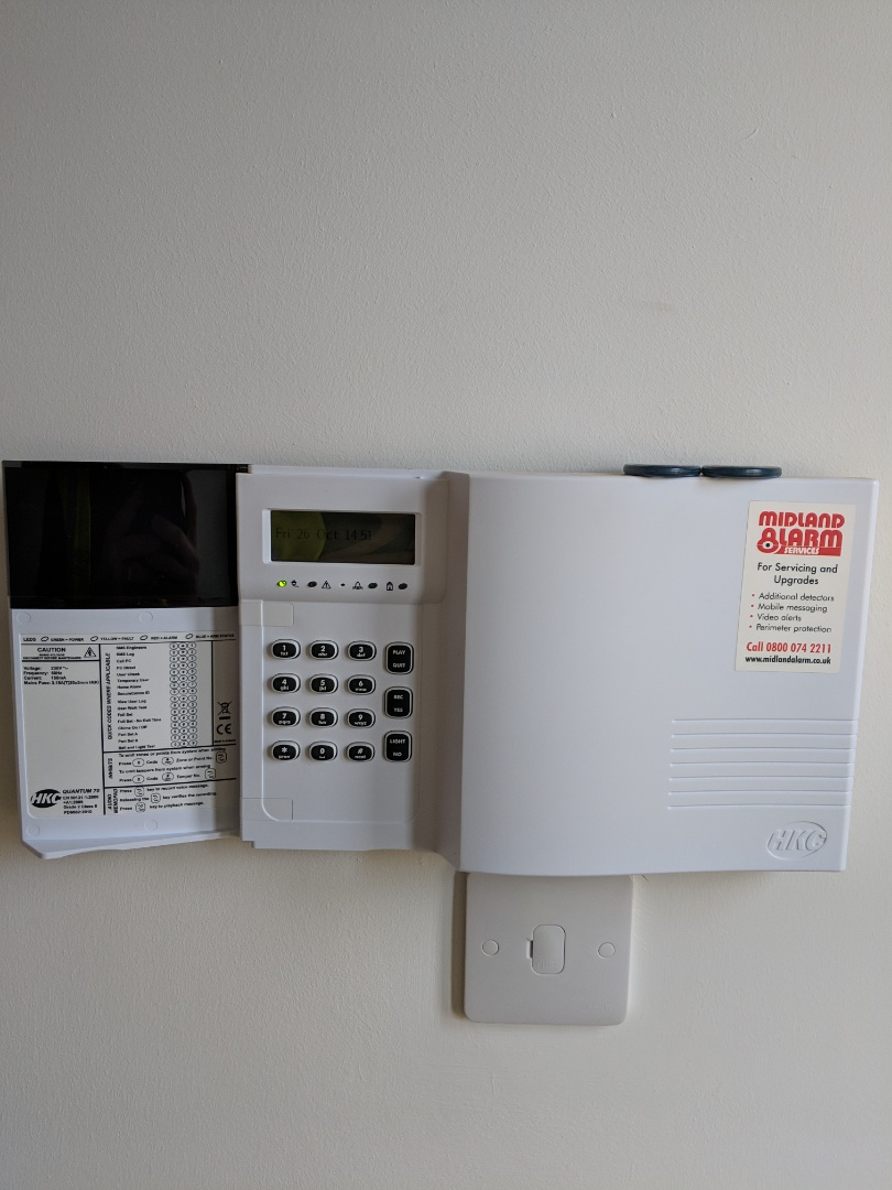 medium resolution of warwick warwickshire installing extra sensors to a hkc alarm system boosting the property s security