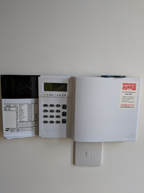 small resolution of warwick warwickshire installing extra sensors to a hkc alarm system boosting the property s security