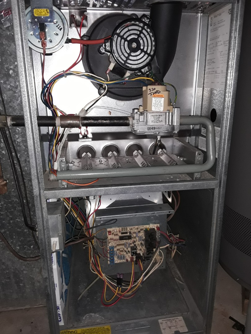 medium resolution of smyrna ga heat maintenance on rheem furnace replaced worn ignitor