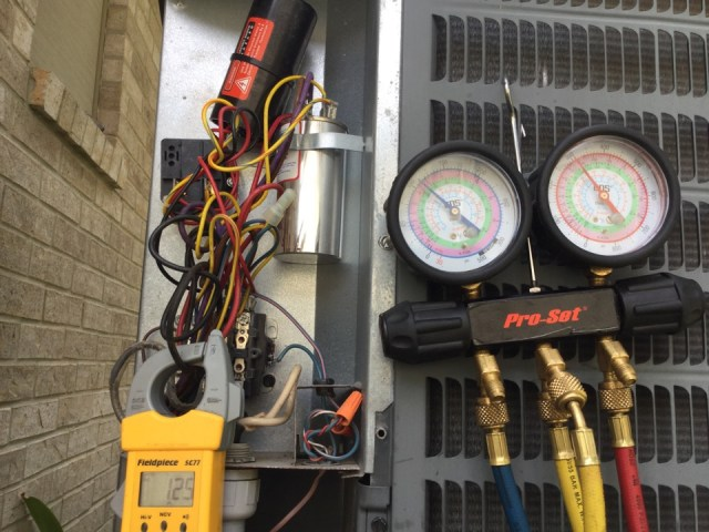 La Porte, TX - Performed seasonal air conditioning and furnace tuneup on goodman equipment