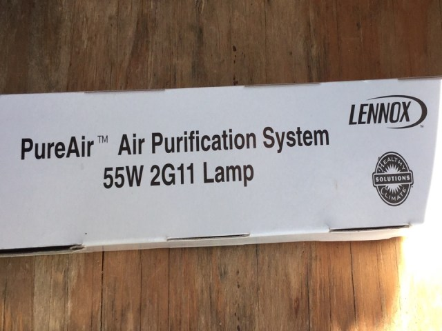 Missouri City, TX - Install Lennox UV bulb