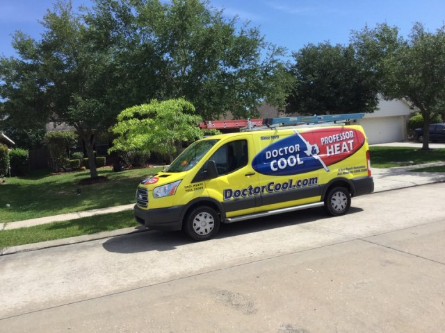 La Marque, TX - Ac maintenance call. Performed tune up on Carrier air conditioning and heating system