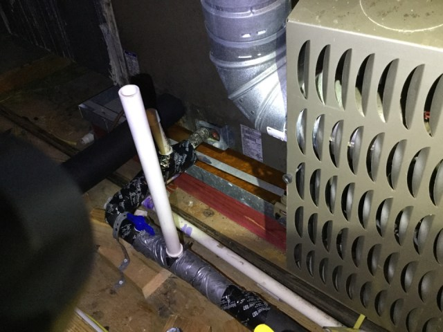 Texas City, TX - I'm performing a air-conditioning maintenance on a Carrier unit. Maintenancingthe unit to prevent a no cool situation. Checking andservicing the outdoor and indoor components to prevent the unit fromrunning excessively long and not cooling.Cleaning and sanitizing the drain lines to prevent excessive water leakage or adrain clog or excessive drip of water flow from the drain line.