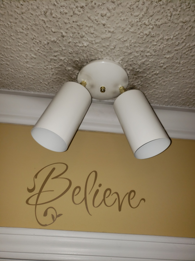 Wake Forest, NC - Diagnosing light fixtures and giving estimates