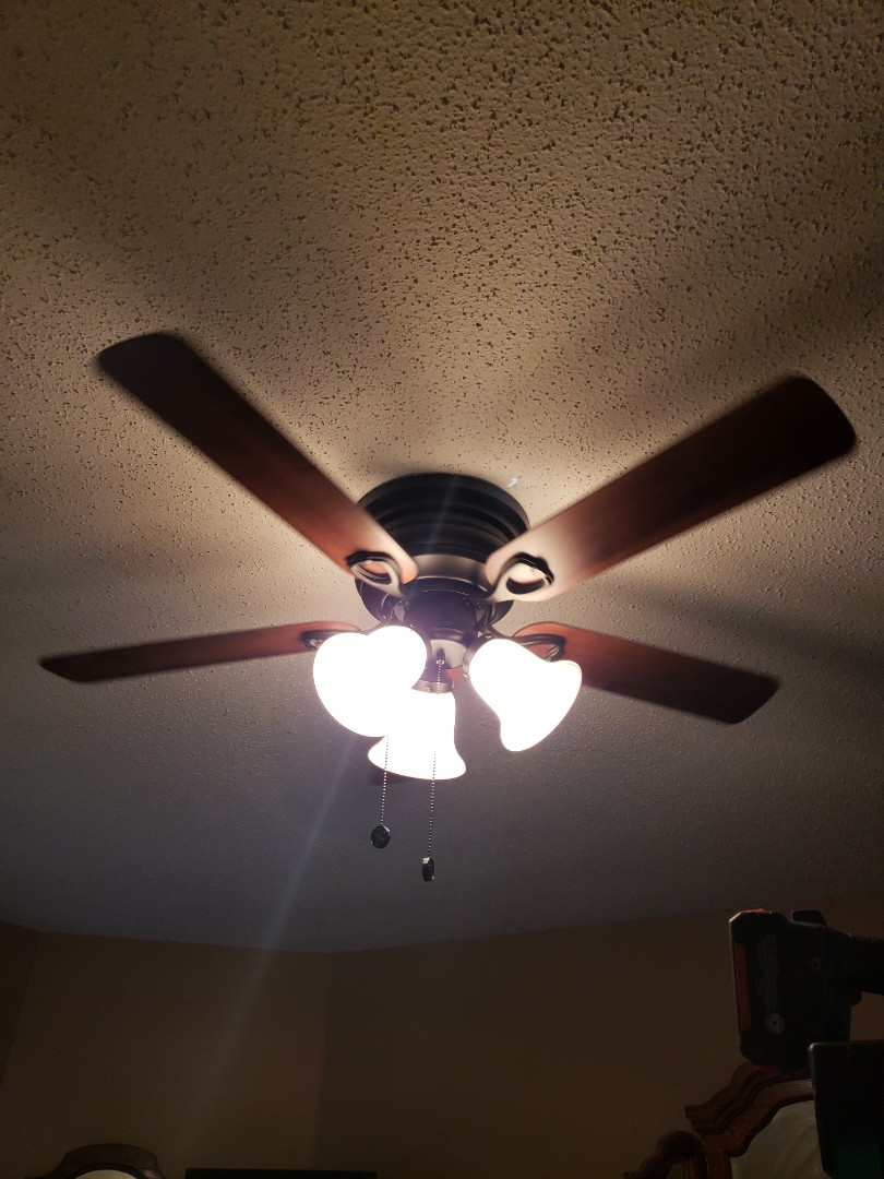 Wake Forest, NC - Install new ceiling fan and new 20 amp circuit for garage